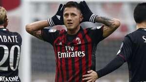 Gianluca Lapadula Milan Crotone Serie A