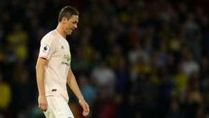 Nemanja Matic Manchester United Watford red card 150918