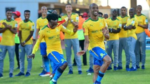 Percy Tau & Tiyani Mabunda Mamelodi Sundowns, May 2018