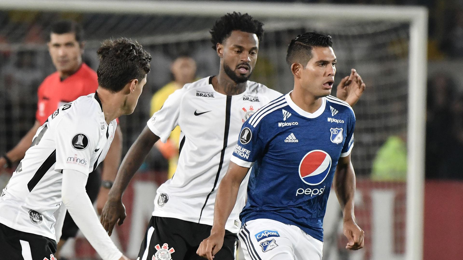 Rene Junior Macalister Silva Millonarios Corinthians 28022018 Copa Libertadores