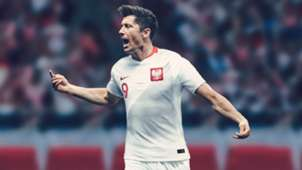 Robert Lewandowski Poland World Cup 2018 home kit