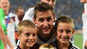 Most capped Europeans Miroslav Klose
