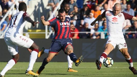 Lorenzo De Silvestri Bruno Martella Crotone Torino Serie A