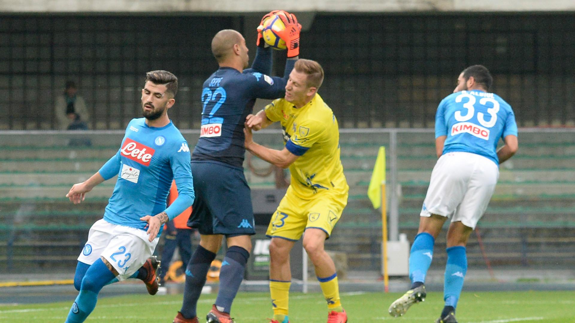 Video: Chievo vs Napoli
