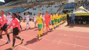 South Africa's Bantwana vs Morocco U17 Women Wolrd Cup Qualifier