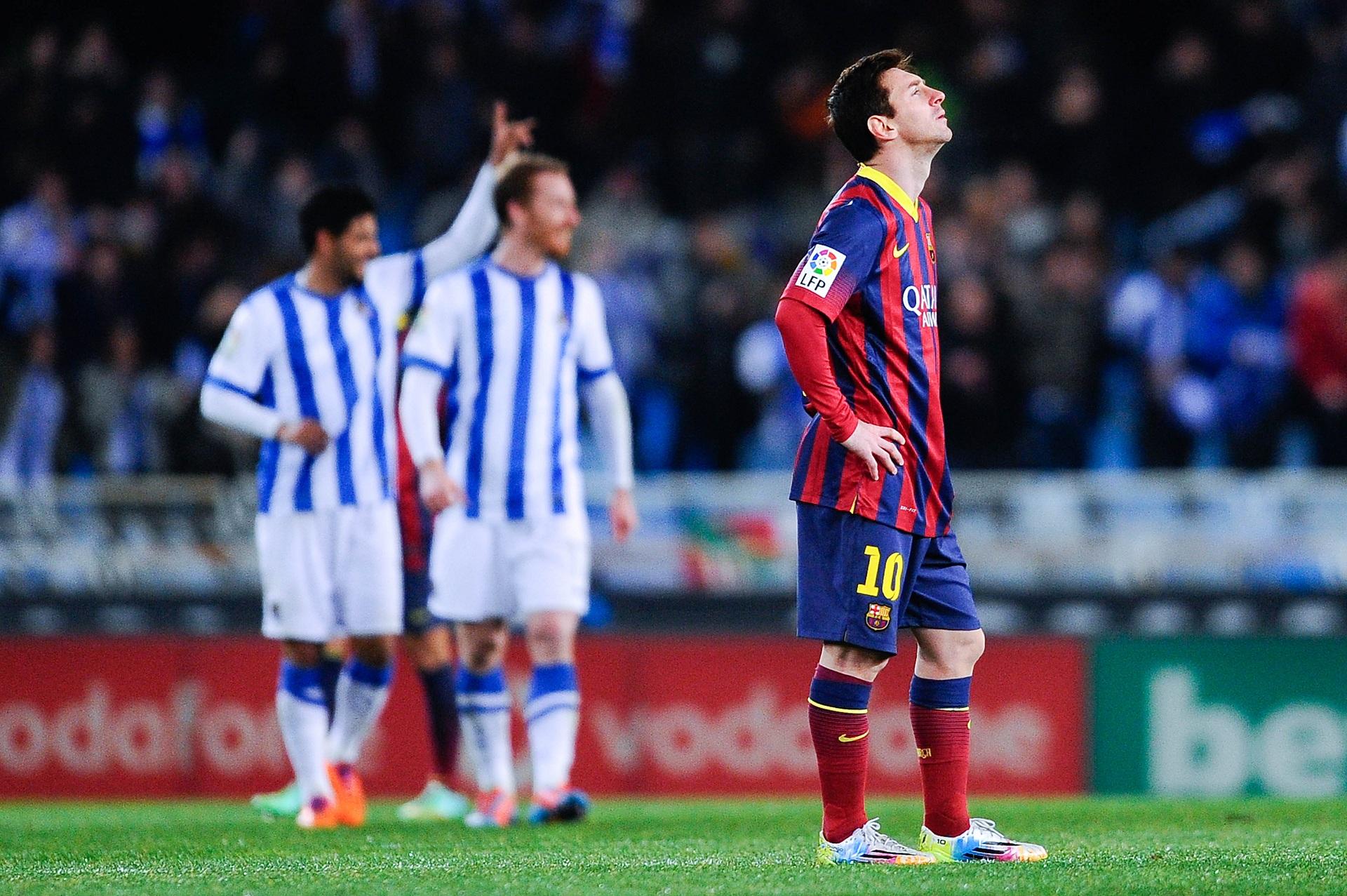 Real Sociedad Barcelna 2014