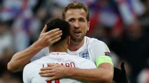 Harry Kane Jesse Lingard England 2018