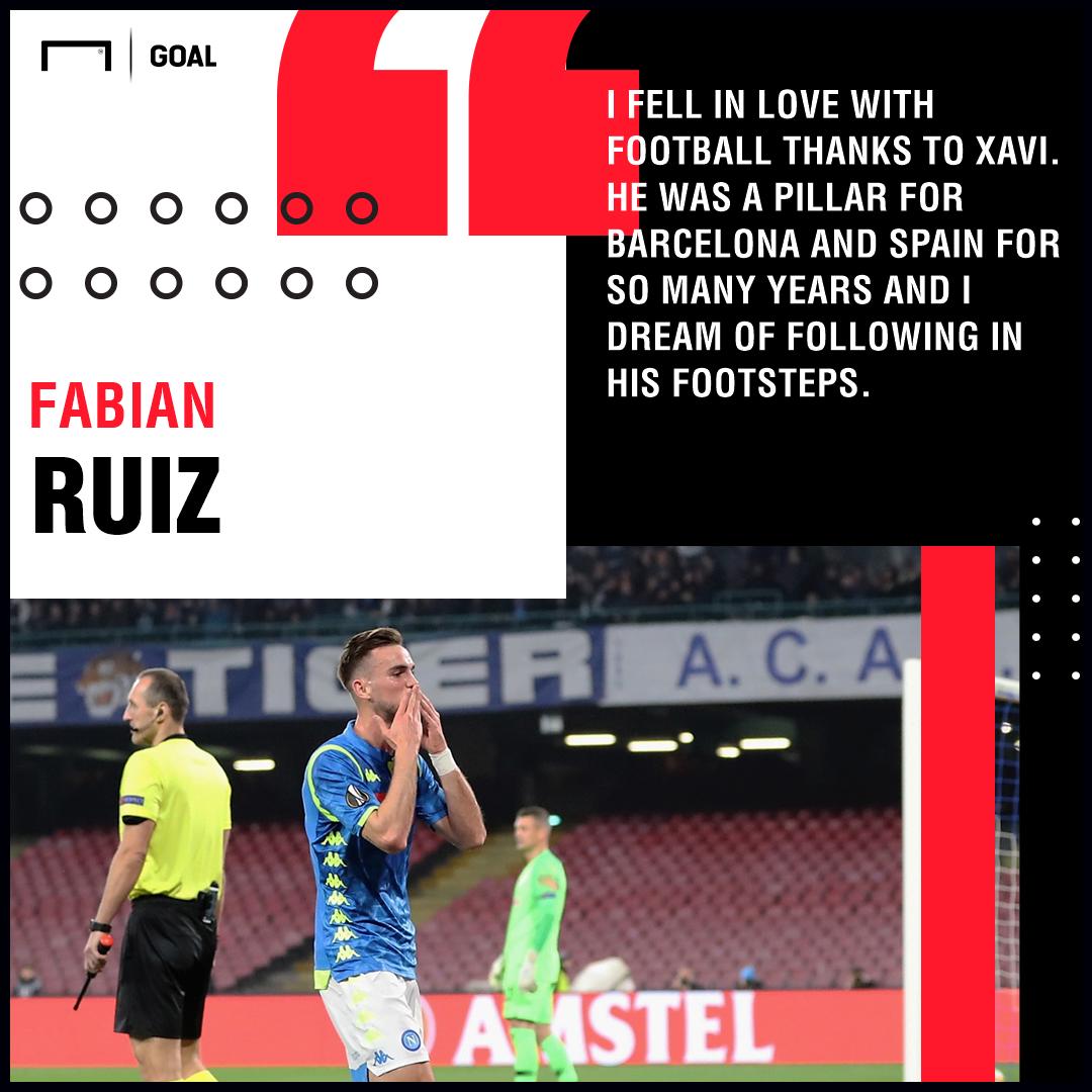 Fabian Ruiz Xavi Napoli PS