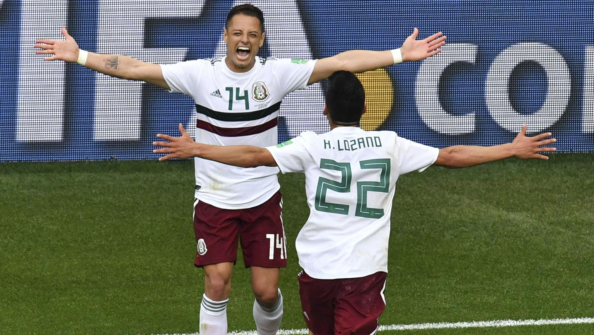 Javier Hernandez Hirving Lozano Mexico World Cup