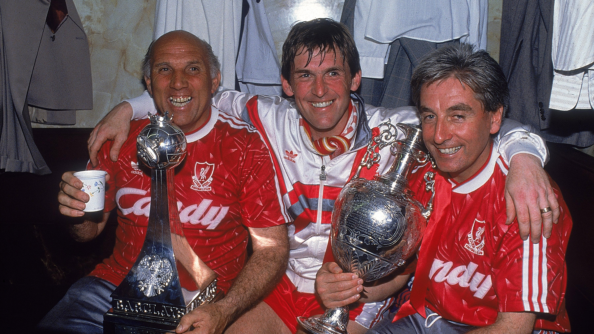 Kenny Dalglish Liverpool 1990