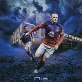 Wayne Rooney Everton GFX