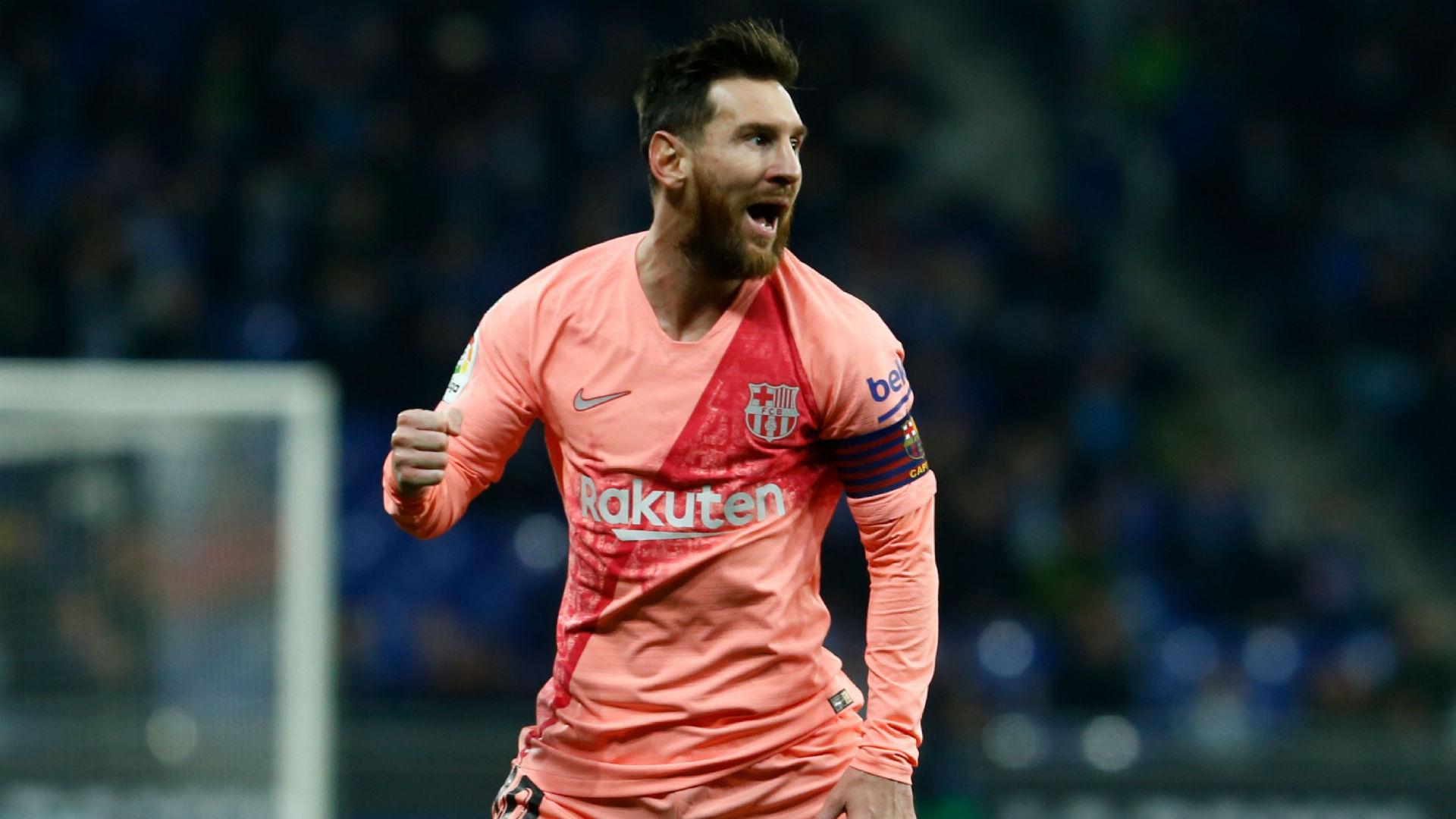 Lionel Messi Barcelona Espanyol La Liga 08122018