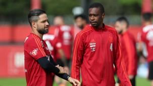 Diego Juan Flamengo treino 11072018