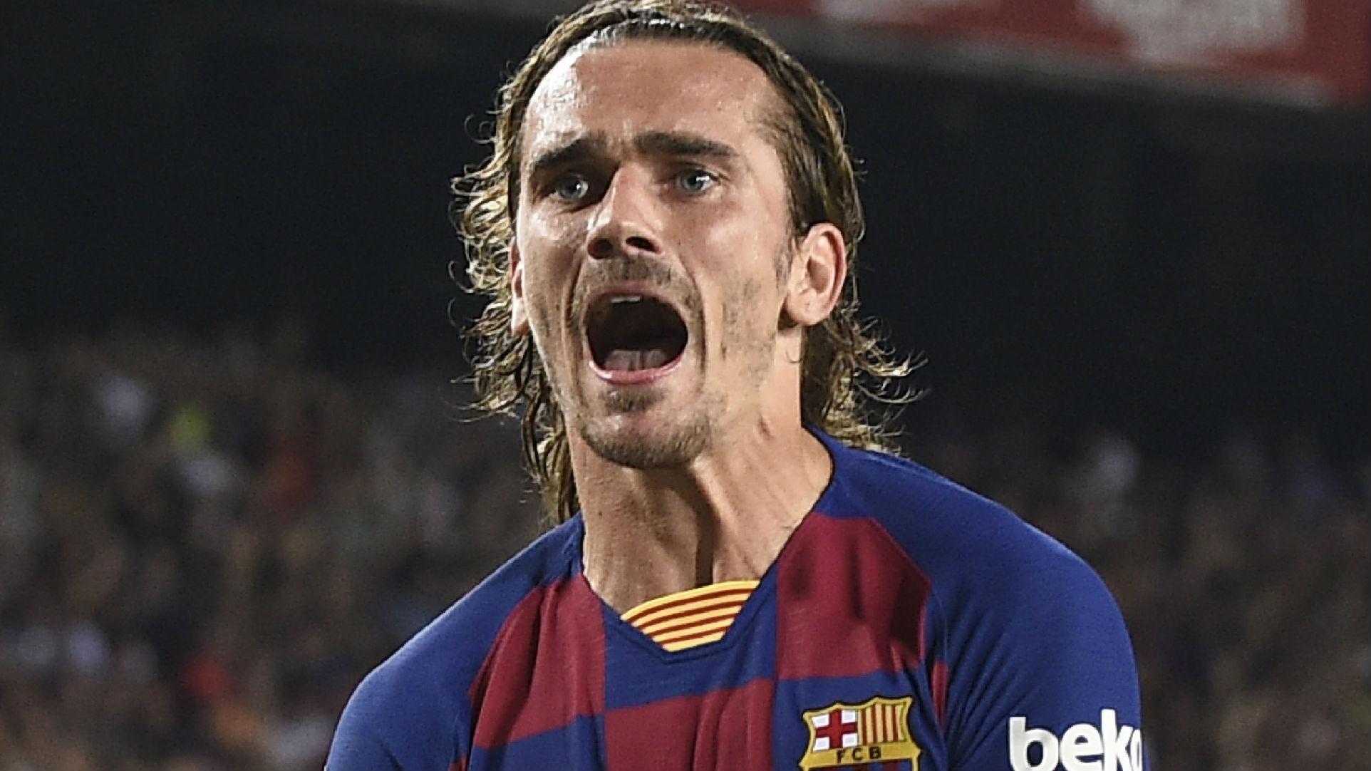 Griezmann scores historic brace in home Barcelona debut