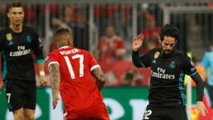 Isco Jerome Boateng Bayern Munich Real Madrid UCL 25042018
