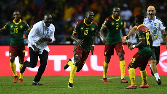 Vincent Aboubakar Egypt Cameroon AFCON 2017 Final