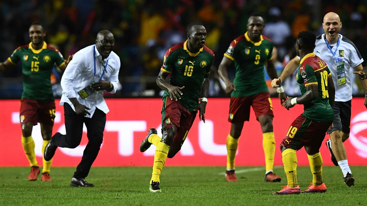Vincent Aboubakar Egypt Cameroon AFCON 2017 Final