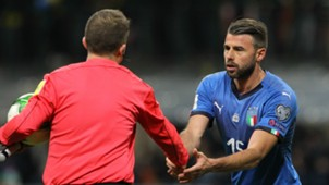 Andrea Barzagli Italy Sweden World Cup Qualification playoff
