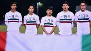 Juan José Macías Diego Lainez Misael Domínguez Selección mexicana 220519