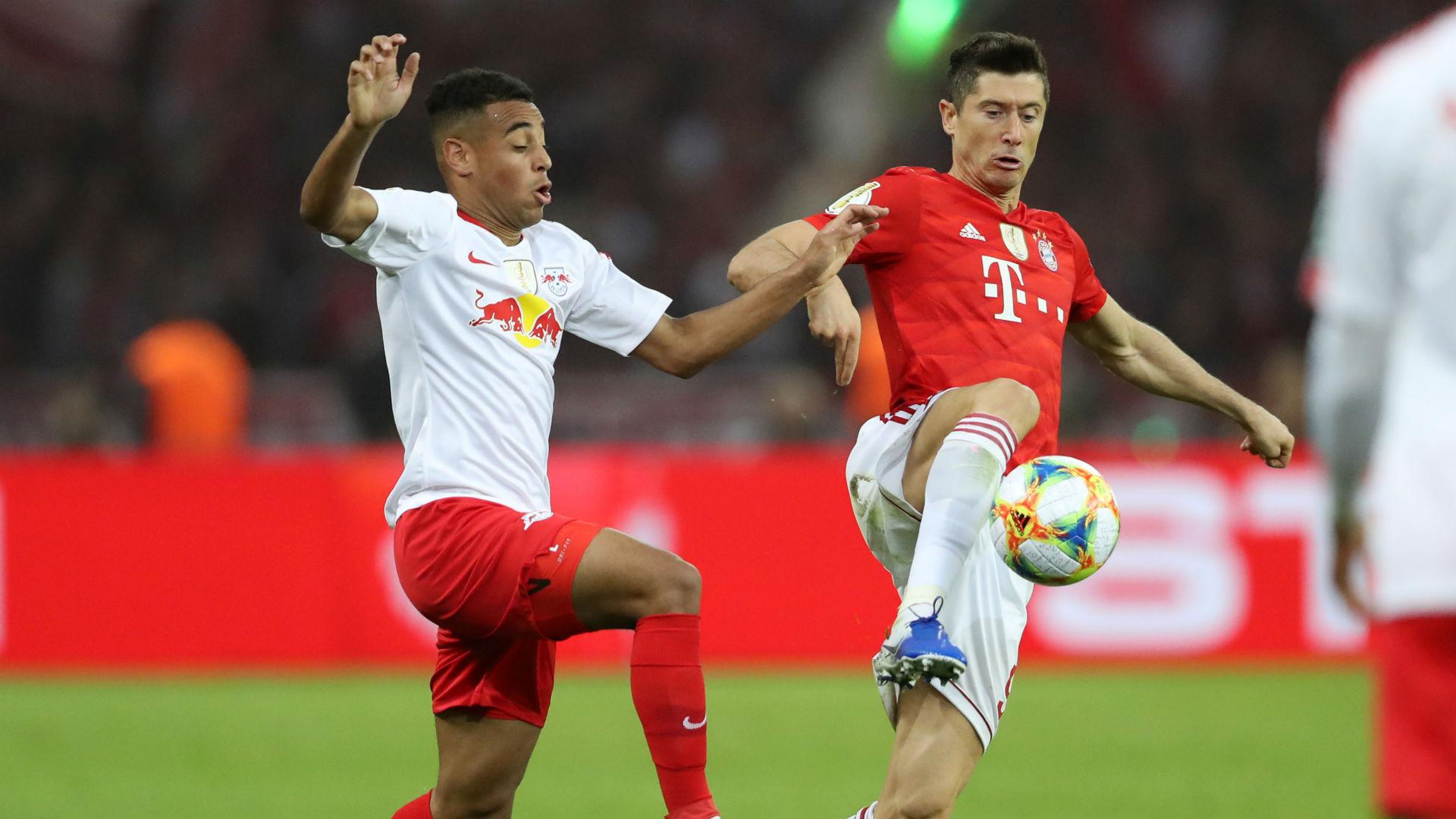 Tyler Adams Robert Lewandowski RB Leipzig FC Bayern 2019