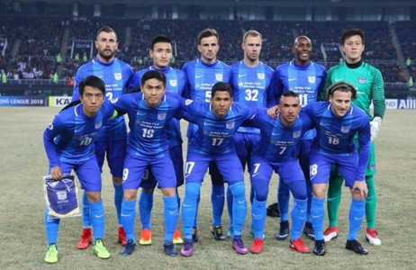 AFC Champions league, Kitchee 0:3 lost to Tianjin QuanJian Football club.