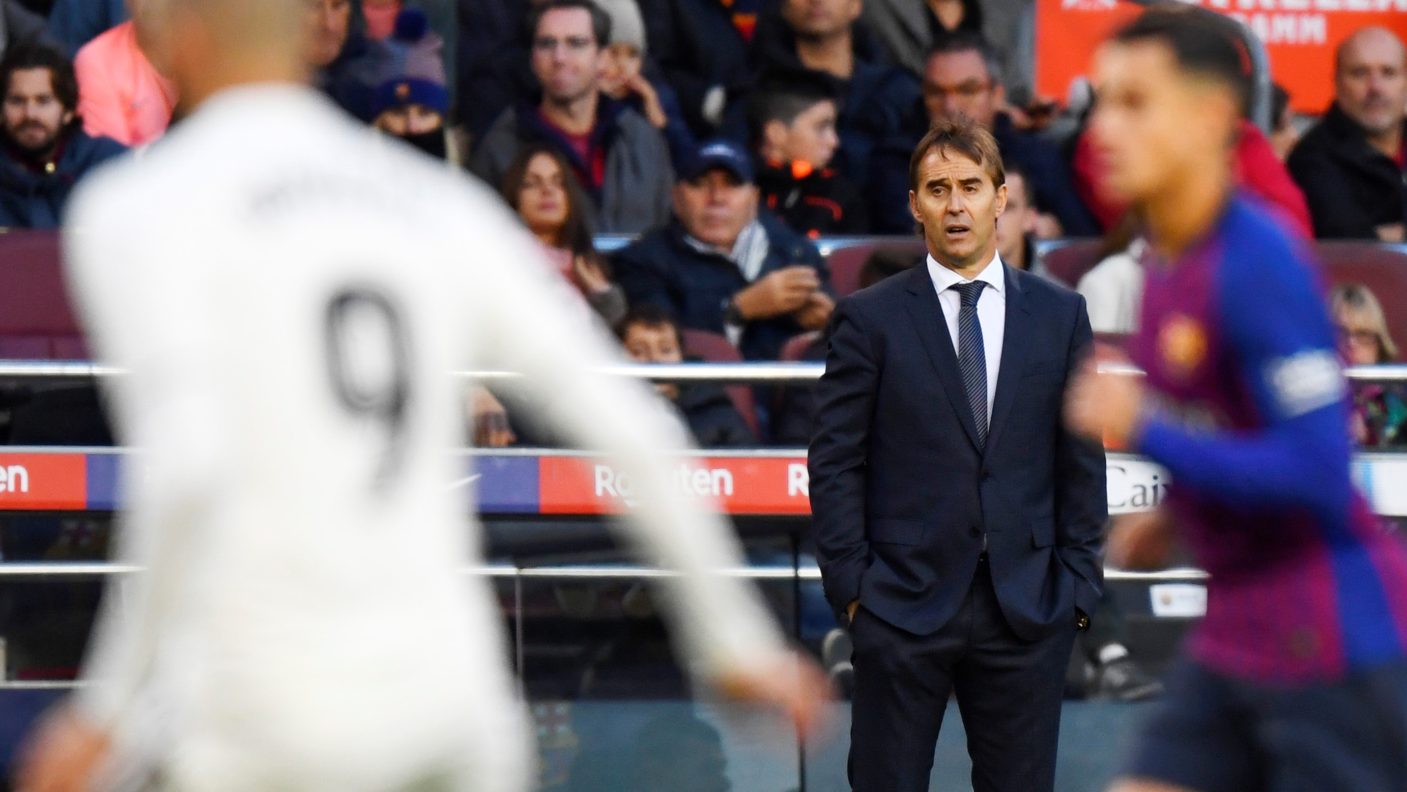 Barcelona Real Madrid Julen Lopetegui LaLiga 28102018