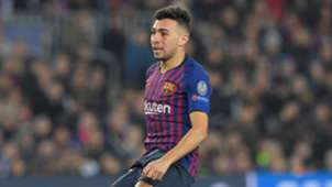 Munir El Haddadi Barcelona Tottenham UCL 11122018