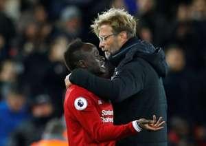 Klopp Mane Liverpool