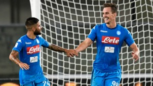 Milik Insigne Verona Napoli Serie A
