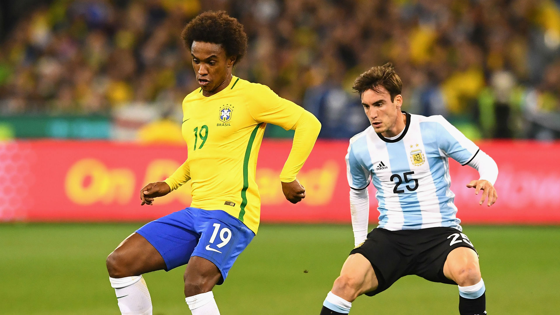 Willian Brazil Argentina