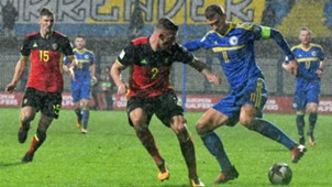 Bosnia Belgium WC Qualification Dzeko