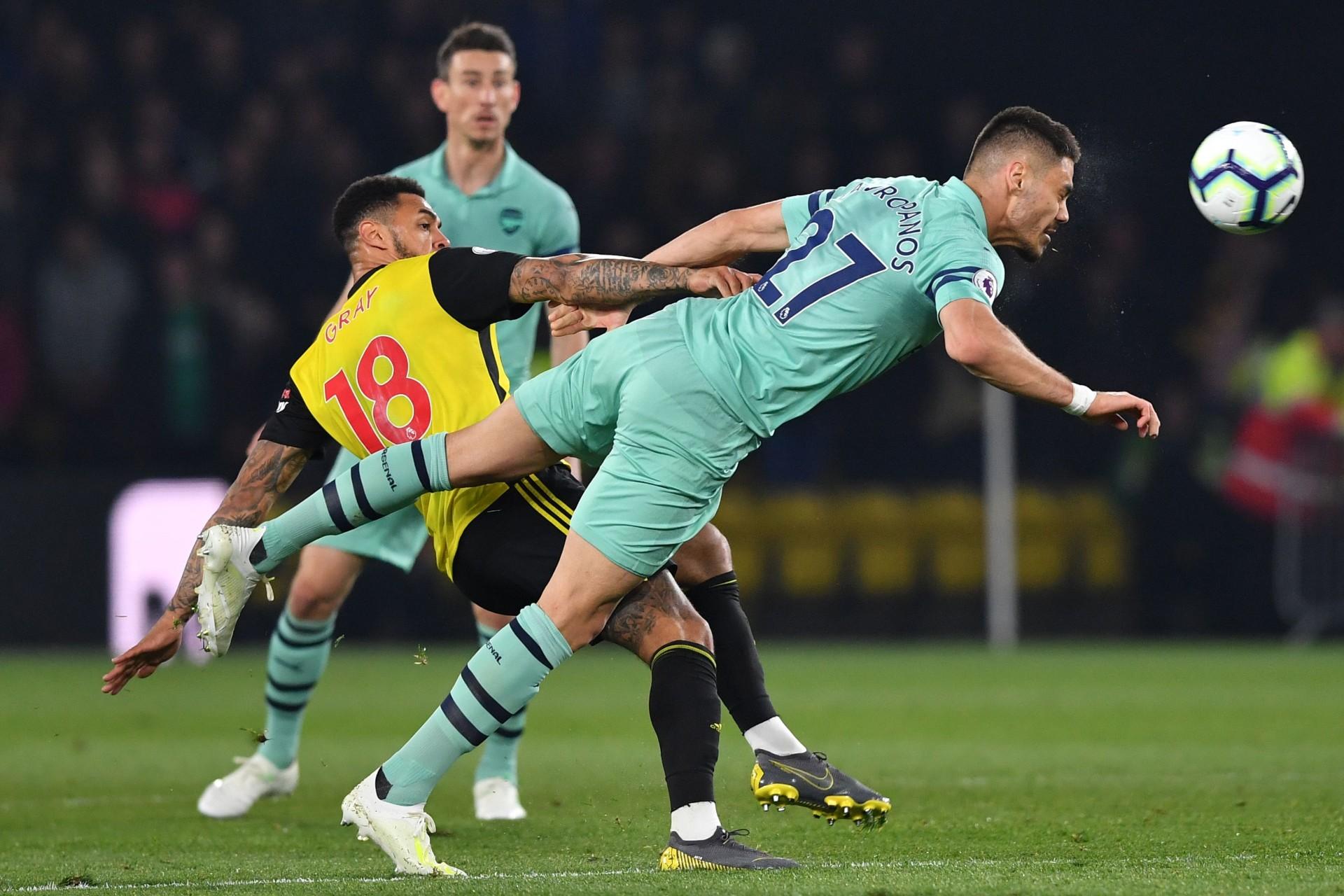 Konstantinos Mavropanos Arsenal 2018/19