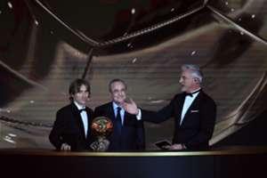 Florentino Perez Luka Modric Balon de Oro