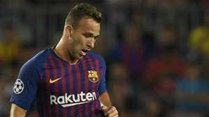 Arthur Barcelona PSV Champions League 18 09 2018