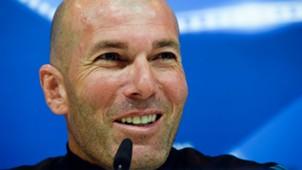 Zinedine Zidane Real Madrid Champions League Press Conference