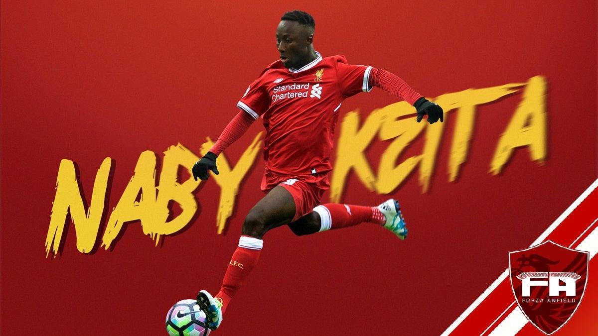 Naby Keita Liverpool GFX