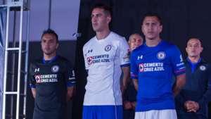 cruz azul uniformes presentación 2017