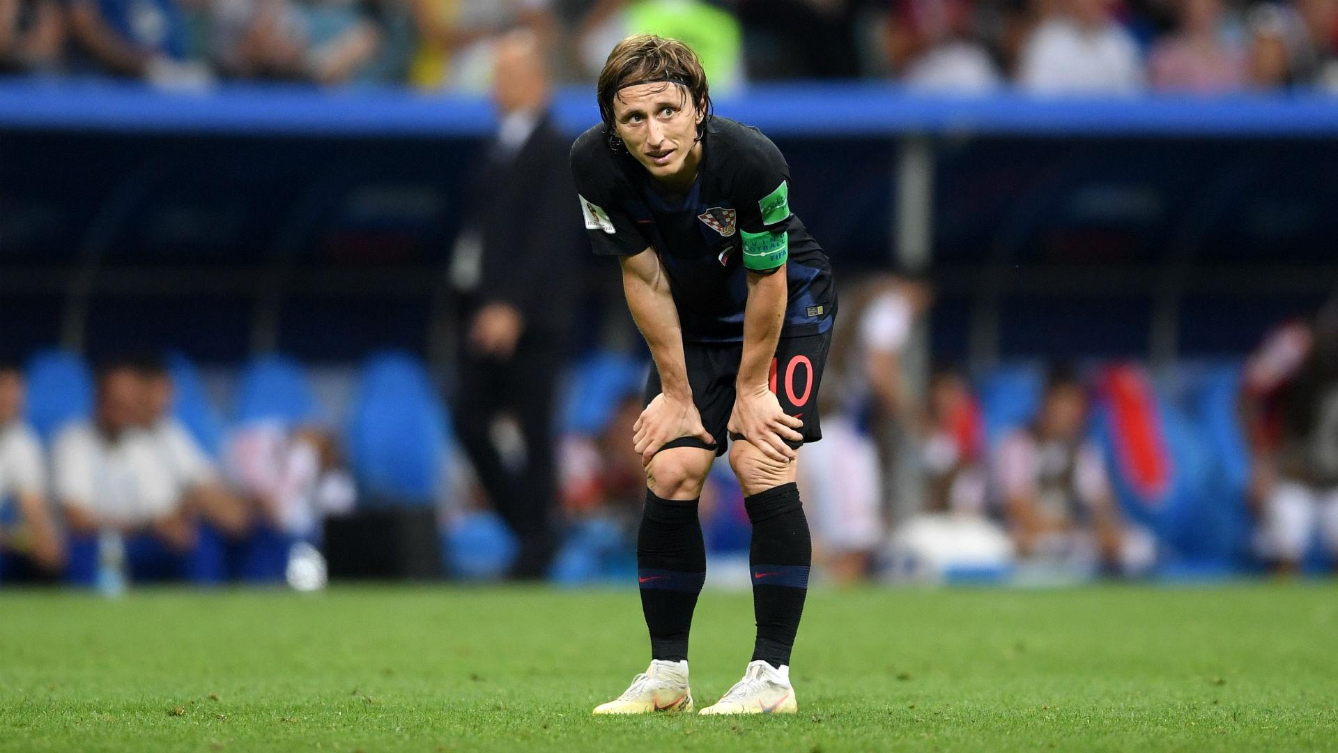 russia croatia - luka modric - world cup - 07072018