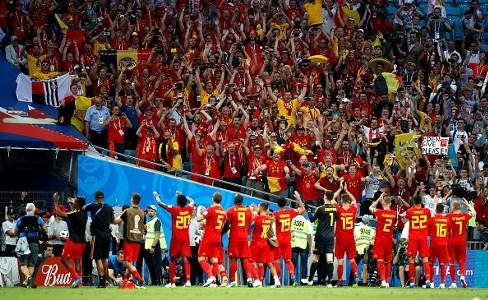 Belgium greet fans