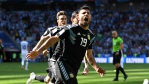 Sergio Aguero Argentina Iceland World Cup 160618