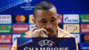 Radja Nainggolan Roma Barcelona press conference 09042018