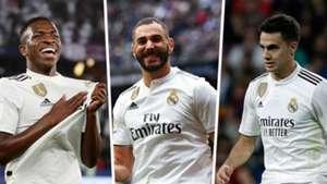 Vinicius Benzema Reguilon Real Madrid