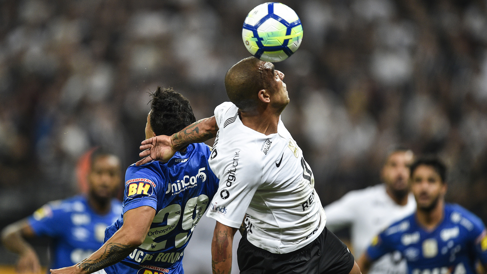 Emerson Sheik Lucas Romero Corinthians Cruzeiro Copa do Brasil 17102018