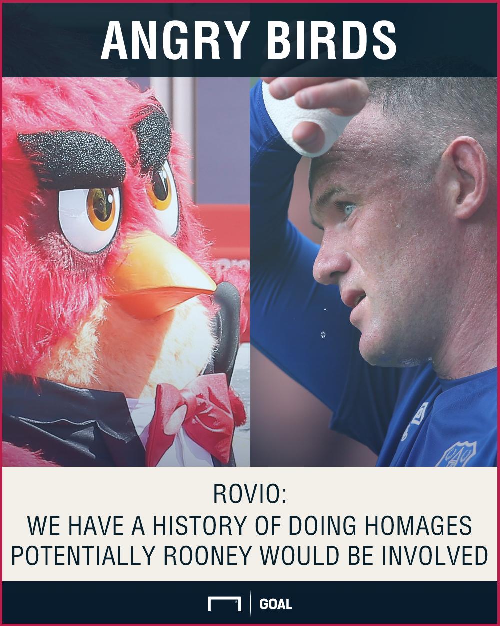 Angry Birds Wayne Rooney