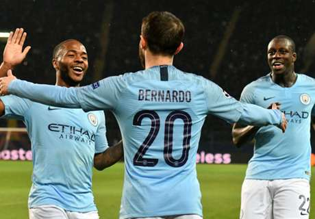 Man City record Champions League first