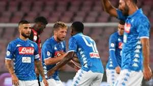Dries Mertens Napoli Milan Serie A