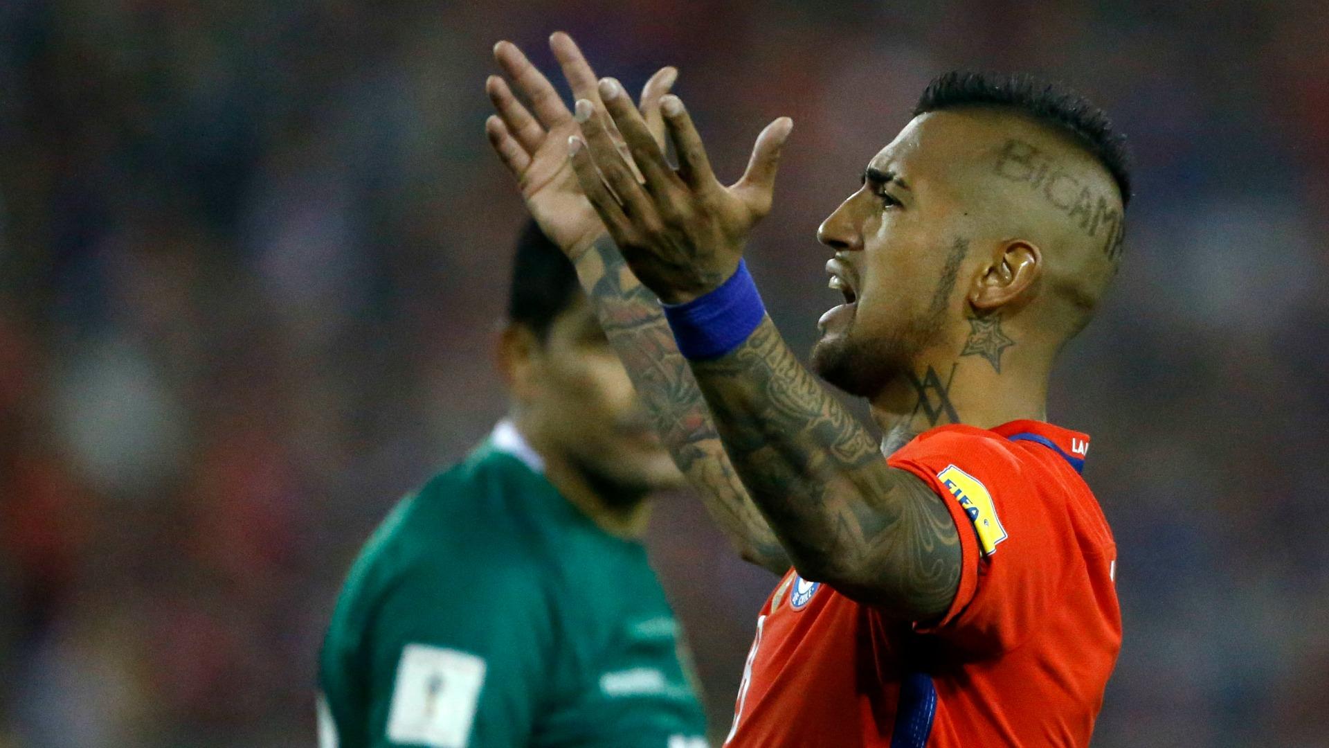 Chile complica su pase al Mundial