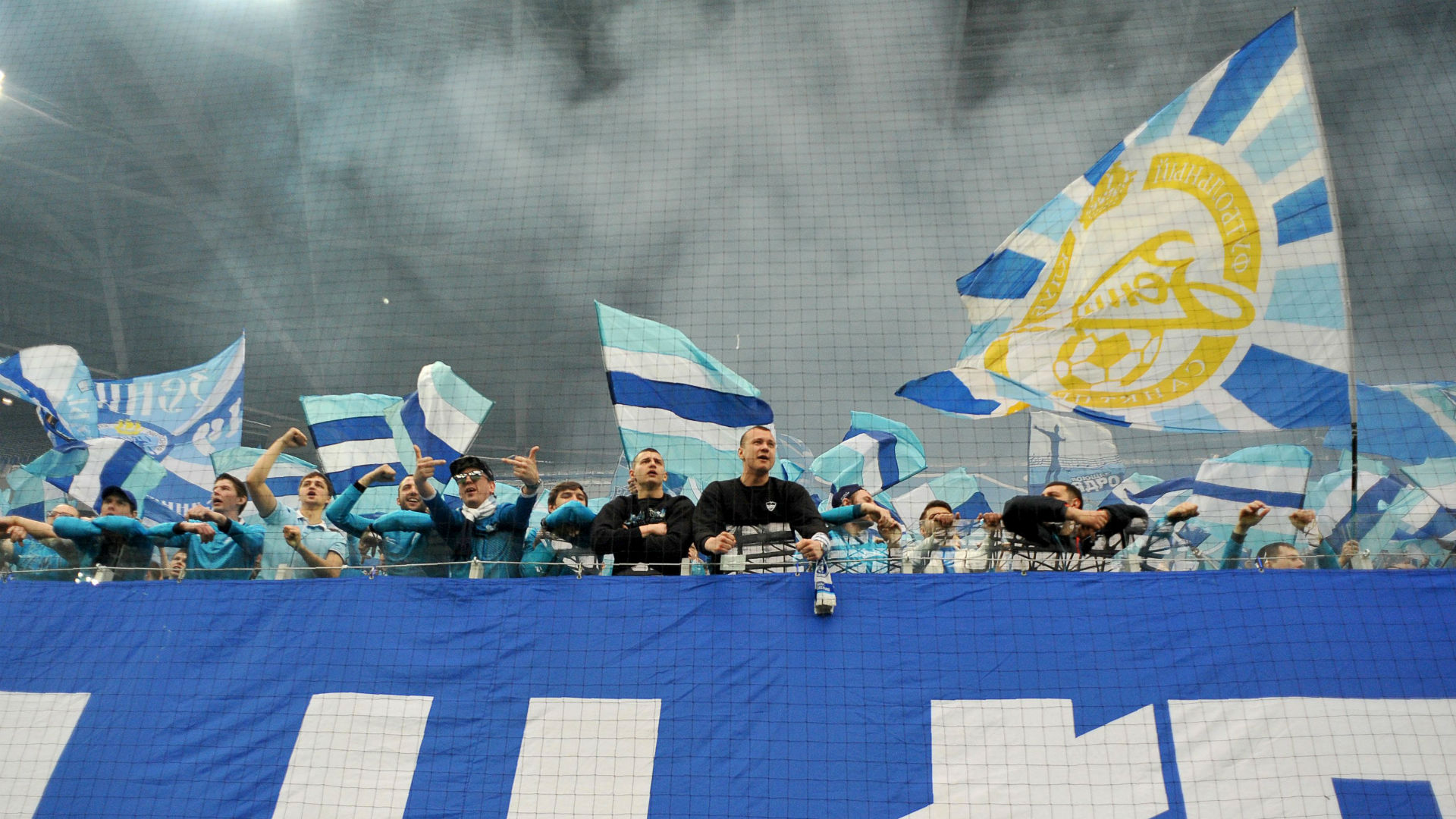 Zenit fans are outraged by the failure of the TFR to initiate a case about the beating by the riot police 25.09.2012