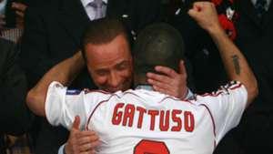 Berlusconi Gattuso Milan