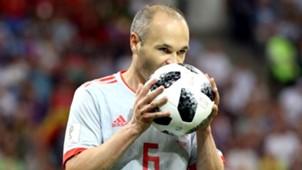 Andres Iniesta Portugal España Spain World Cup 15062018